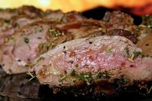 New York Steak with Rum Butter Recipe