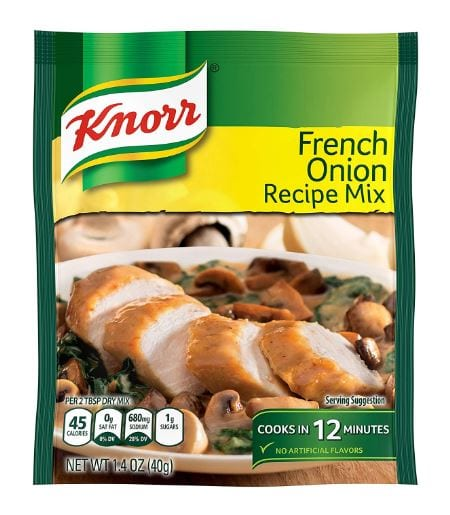 Knorr Recipe Mix, French Onion