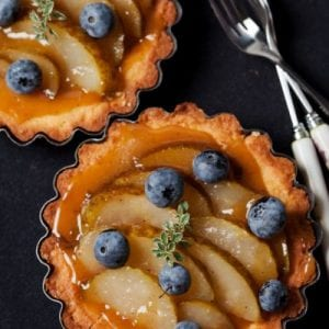 Pear and Blueberry Tart Recipe