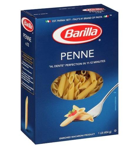 Barilla Pasta, Penne