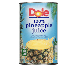 Dole, Pineapple Chunks in Juice