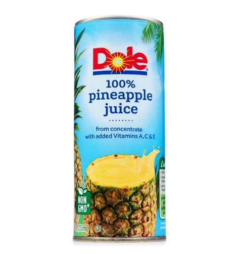 Dole Pineapple Juice, From Concentrate