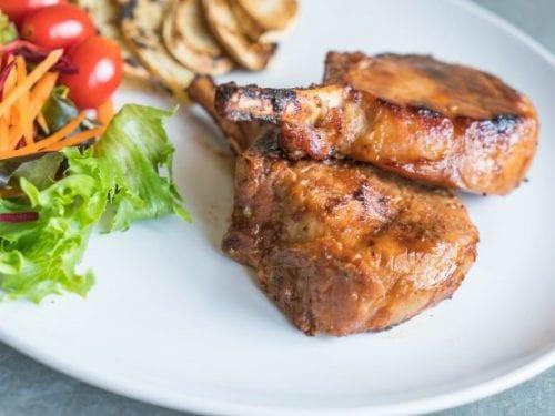 pork chops in ginger ale