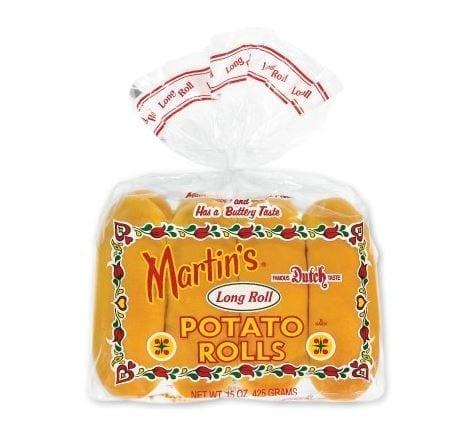 Martin's Long Roll Potato Rolls