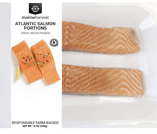 Marine Harvest Fresh Atlantic Salmon