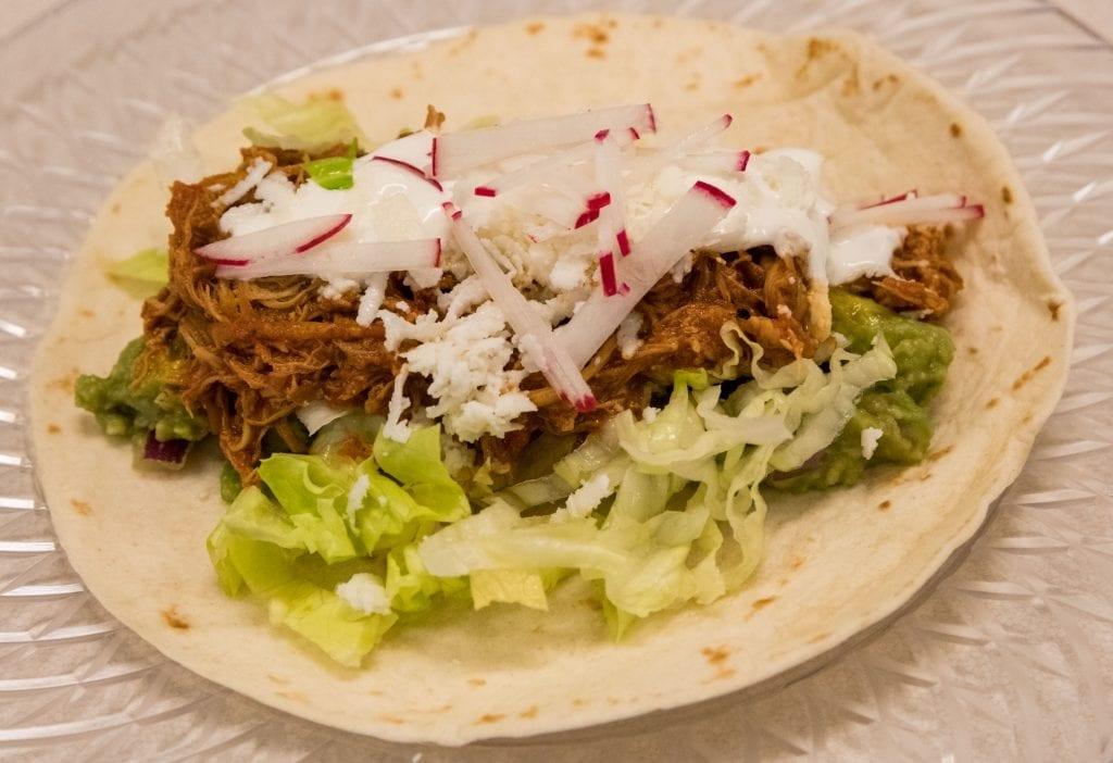 Slow Cooker Chicken Burritos Recipe