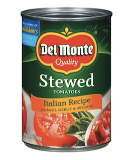 Del Monte Stewed Tomatoes Italian Recipe