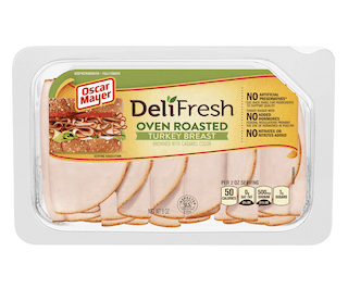 Oscar Mayer Deli Fresh Oven Roasted Sliced Turkey Breast