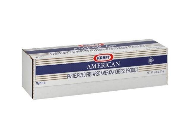 Kraft American White Cheese Loaf