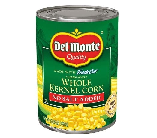 Del Monte Canned Golden Sweet Whole Kernel Corn
