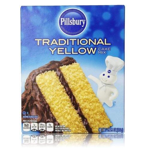 Pillsbury Traditional Yellow Cake Mix