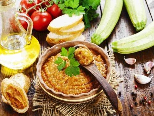delicious zucchini spread recipe