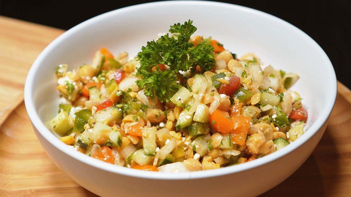 Chopped-Chickpea-Salad