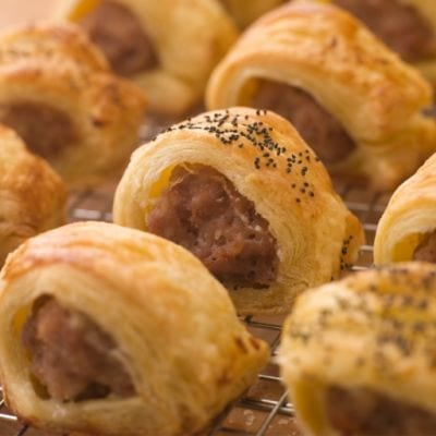 Breakfast Sausage Crescent Rolls Recipe
