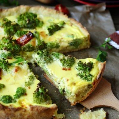 broccoli swiss quiche