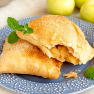 Cinnamon Sugar Apple Turnover Crescents Recipe