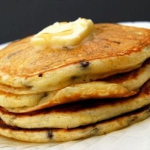Cookie Dough Pancakes Recipe