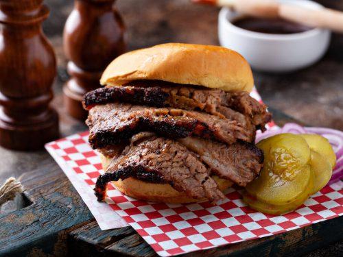 Easy BBQ Beef Brisket Sandwich Recipe, bbq brisket sandwich