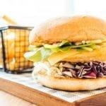 fried snapper sandwich