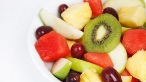 Fruit Salad with Honey-Lime Dressing Recipe