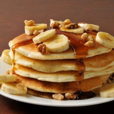 Greek Yogurt Banana Pancakes Recipe