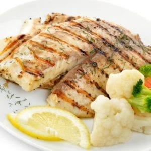 Grilled Tilapia with Lemon Butter Sauce Recipe