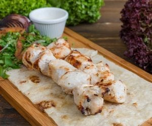 Marinated Yogurt Chicken Kebabs Recipe