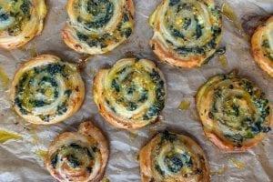 Spinach and Artichoke Pinwheels Recipe