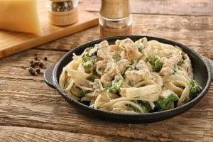 Turkey & Broccoli Alfredo Recipe