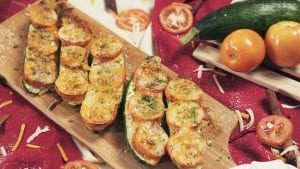 Cheesy Zucchini Boat Recipe