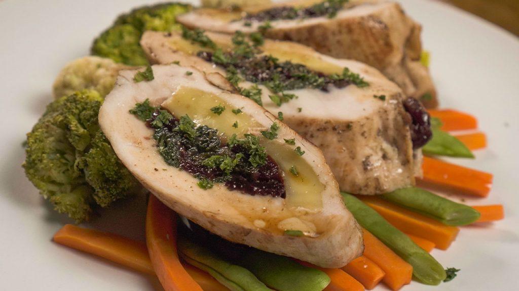 Cranberry and Brie Stuffed Chicken Breast Recipe