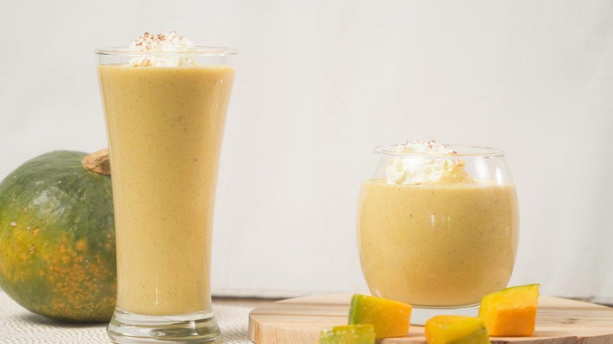 Pumpkin Pie Smoothie Recipe, creamy healthy homemade pumpkin smoothie