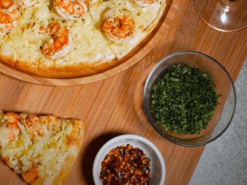 shrimp pizza recipe