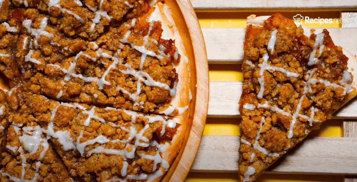 apple dessert pizza recipe