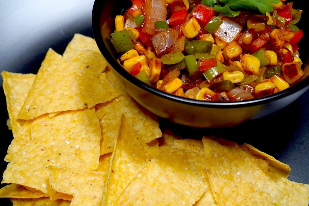 Warm Fiesta Corn Salsa Recipe