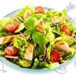 Rainbow Roasted Potato Salad 1 - FoodBabbles.com #potato #salad #vegetarian
