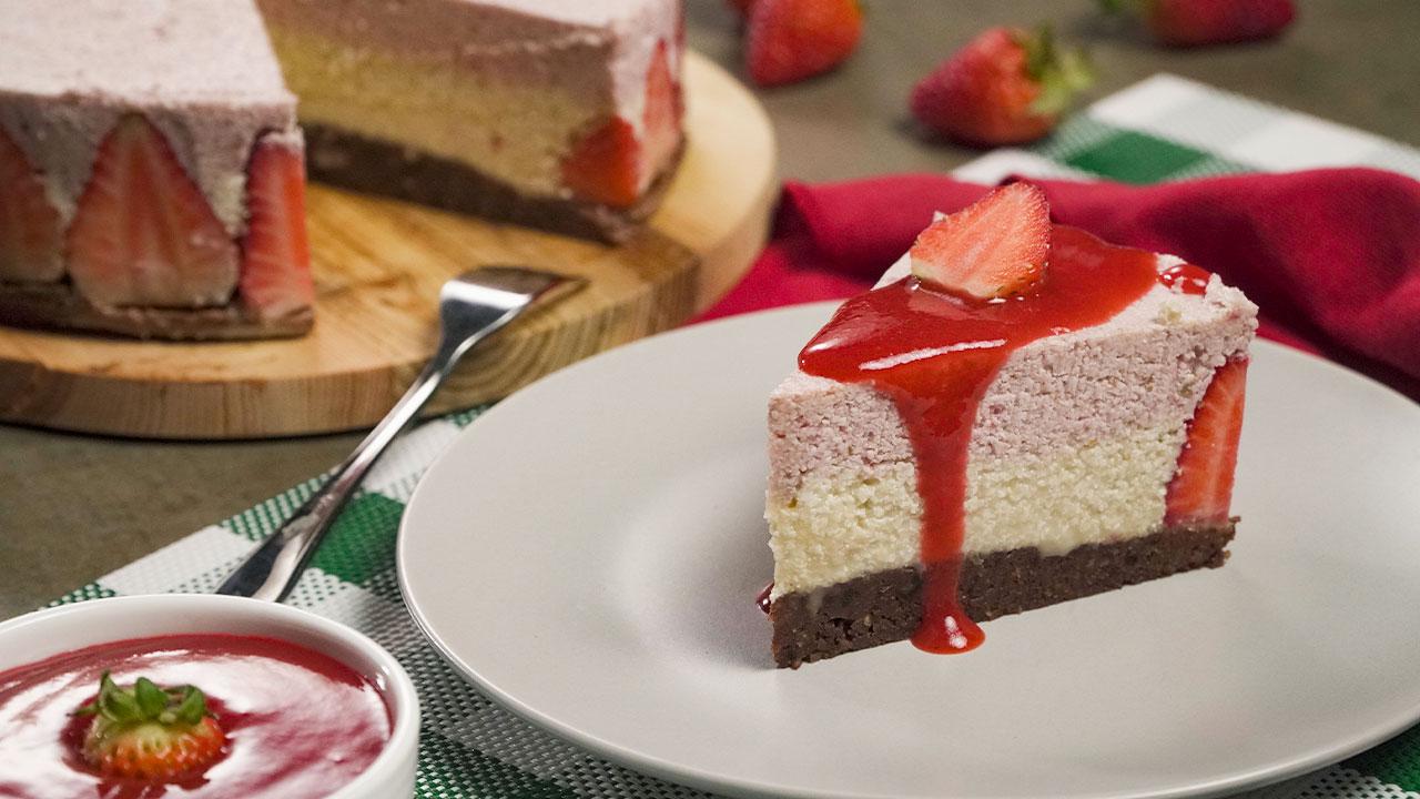strawberry-vanilla-cheesecake-recipe