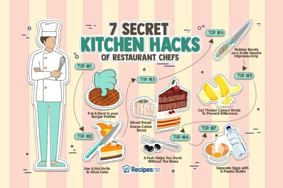 7 Secret Kitchen Hacks of Restaurant Chefs