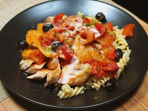 Chicken Breast with Fennel and Tomatoes
