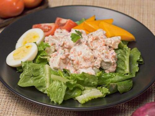 Copycat Cracker Barrel's Chicken Salad Recipe