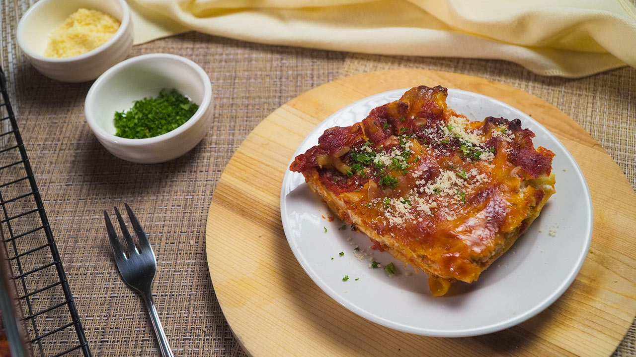 Italian Chicken Lasagna Recipe