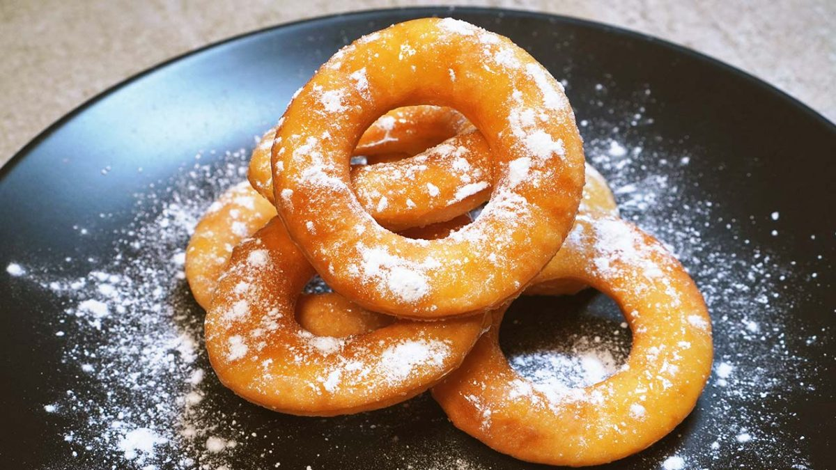 krispy kreme style glazed donut recipe