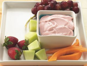Strawberries and Lemon Dip Recipe