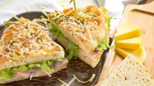 Copycat Panera Bread Cafe's Sierra Turkey Sandwich Recipe