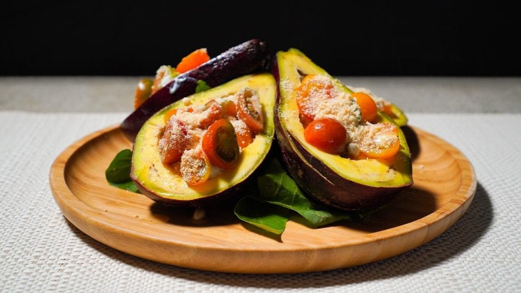Fresh Avocado And Cottage Cheese Salad Recipe