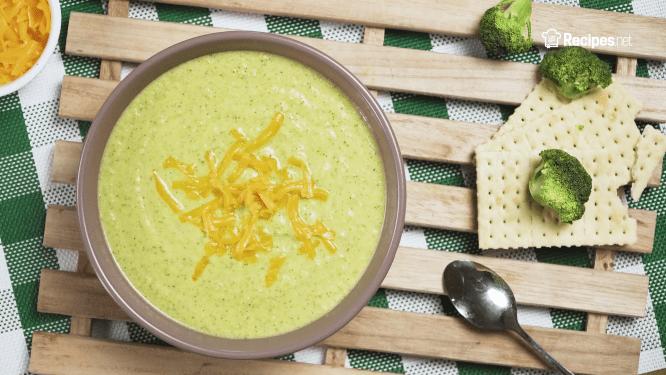 Potbelly's Creamy Cheddar Broccoli Soup