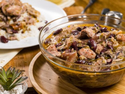 Red Beans and Rice Recipe (With Ham Hocks & Sausages)