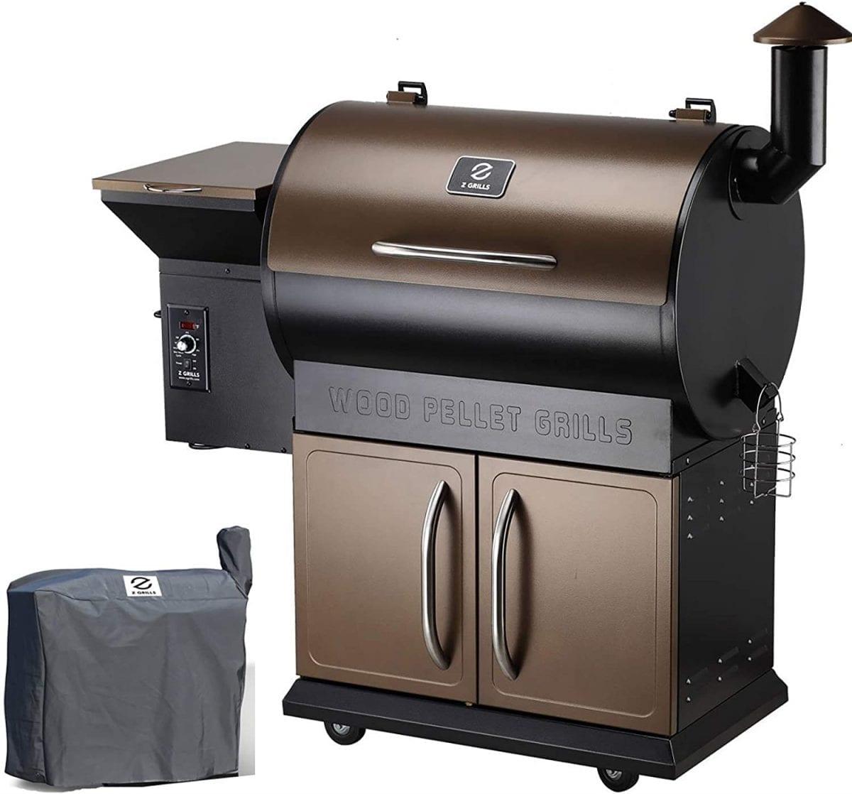 Z GRILLS 700D Wood Pellet Grill & Smoker