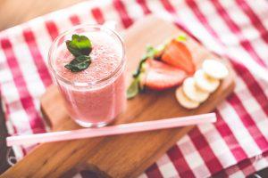 Banana Strawberry Fruit Smoothie Recipe