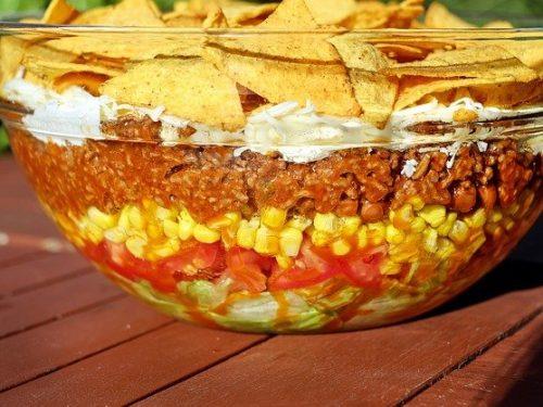 delicious taco caserole